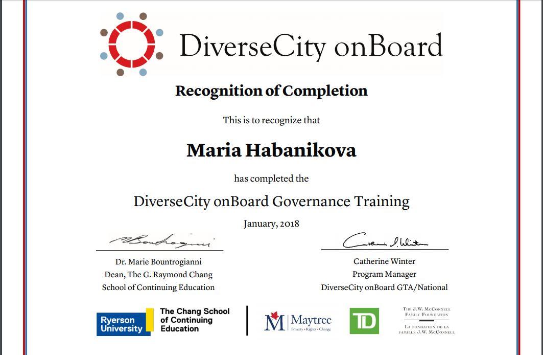 board gov certificate
